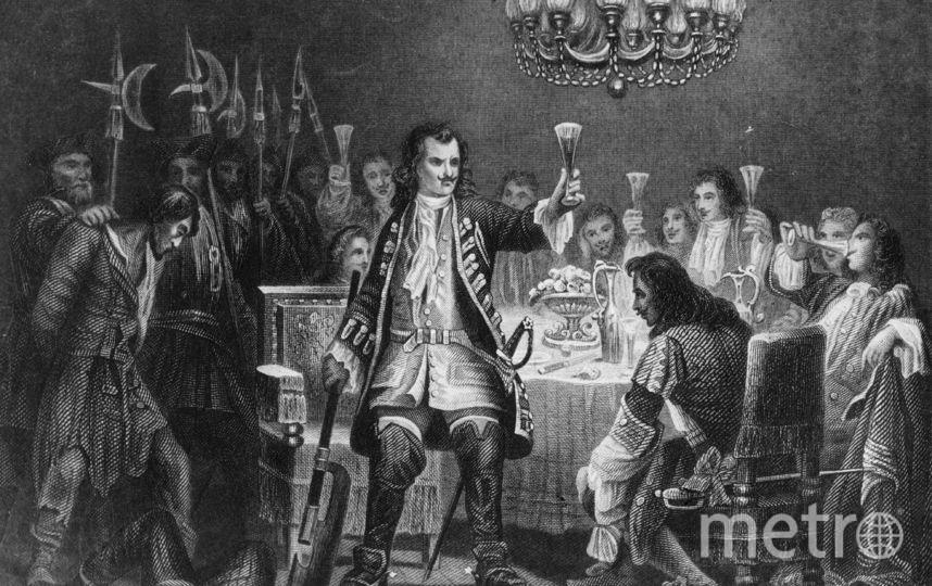 1700 год. Пётр Первый обезглавил одного из повстанцев стрельцов. Фото Getty