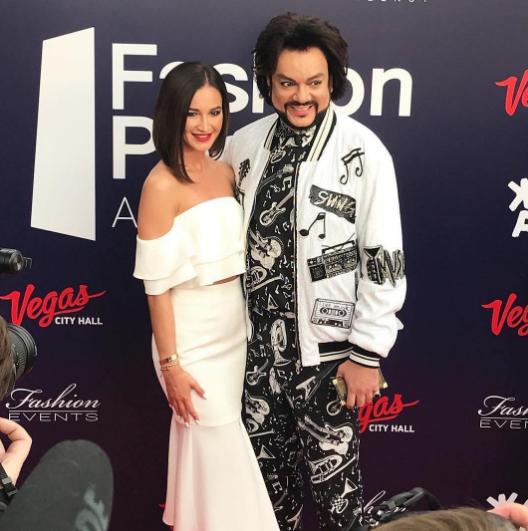 Ольга Бузова и Филипп Еиркоров на премии Fashion People Awards. Фото Instagram Ольги Бузовой.