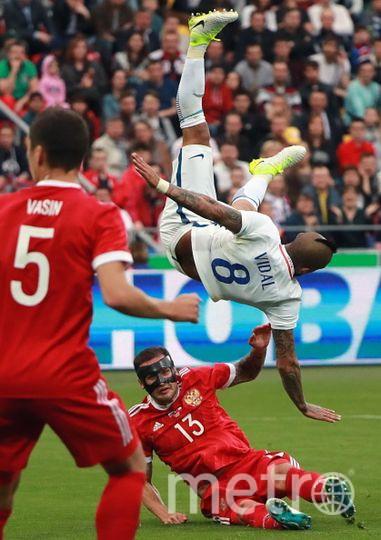 Фотография с матча. Фото Getty