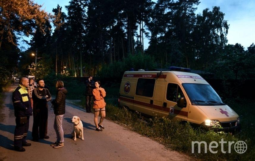 Сотрудники правоохранительных органов в Кратово. Фото РИА Новости