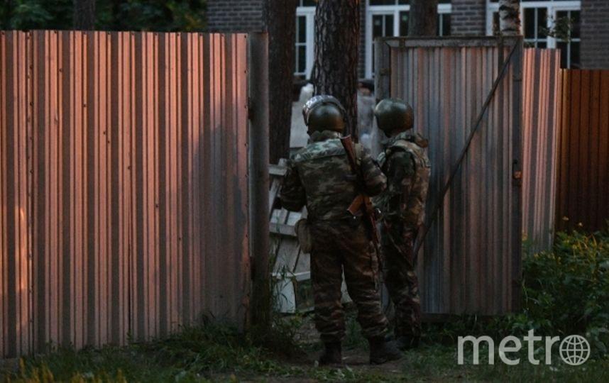 Полиция в Кратово. Фото РИА Новости
