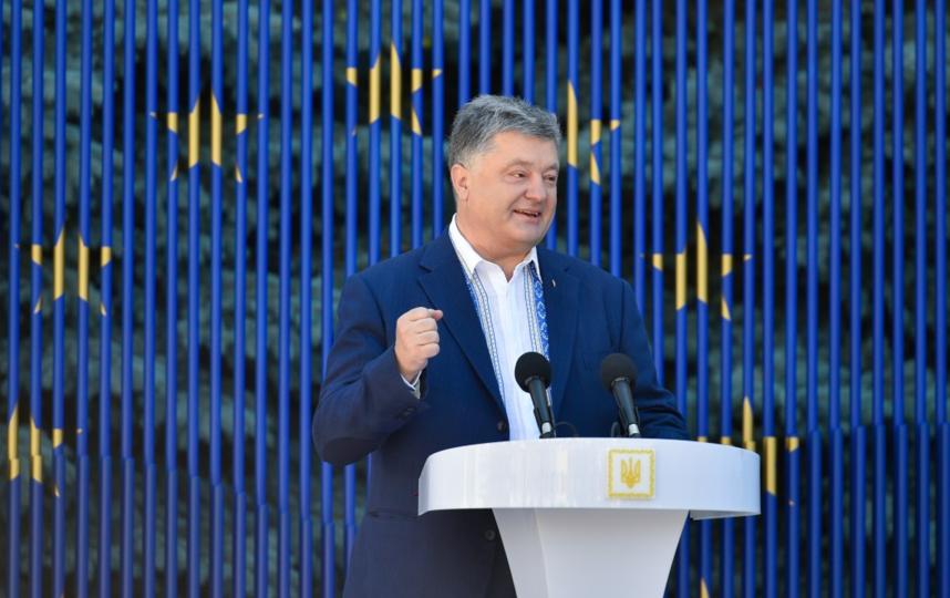 Владимир Путин ответил на объявление Петра Порошенко про «немытую Россию»
