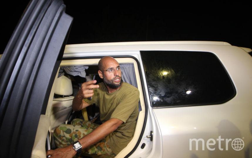 Сейф аль-Ислам Каддафи. Фото AFP