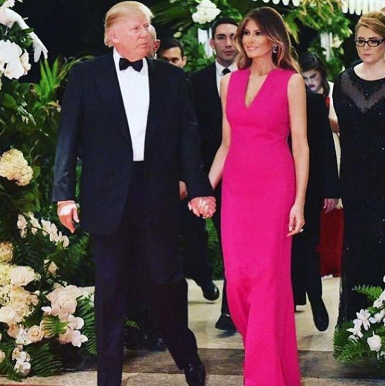 Мелания Трамп - фотоархив. Фото Все- скриншот Instagram