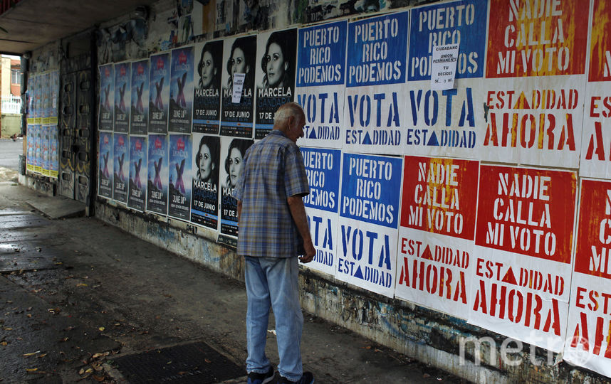 День референдума в Пуэрто-Рико. Фото AFP