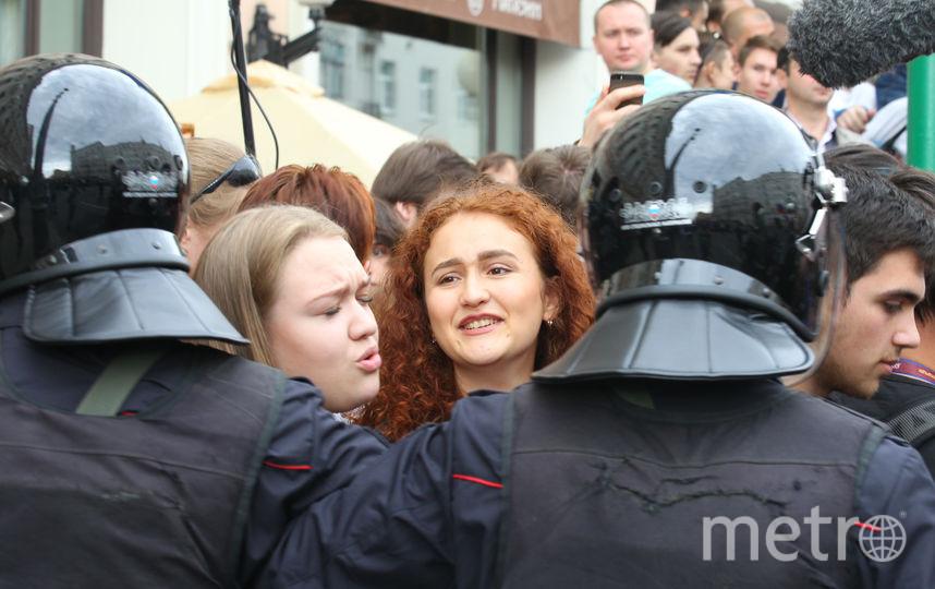 """Акция оппозиции в Москве. Фото Василий Кузьмичёнок, """"Metro"""""""