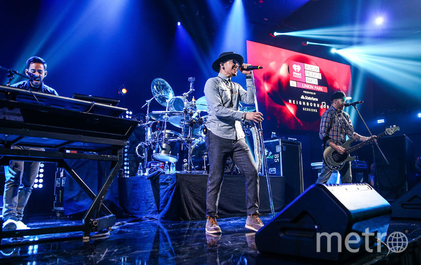 Linkin Park. Фото Getty