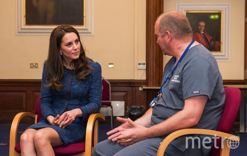 Кейт Миддлтон 12 июня совершила визит в больницу King's College Hospital. Фото Getty