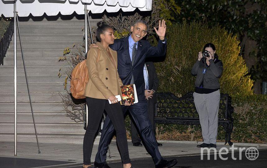 Наташа с Барак Обамы. Фото Getty