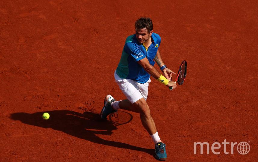 Швейцарский теннисист Стэн Вавринка. Фото Getty