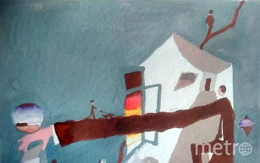 """Представляю свою копию работы Викора Пивоварова """"Длинная-длинная рука"""". Фото Надежда Блохина"""