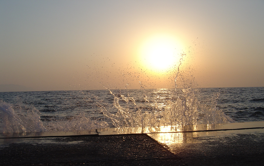 На закате дня. Фото Александр Богдановский.