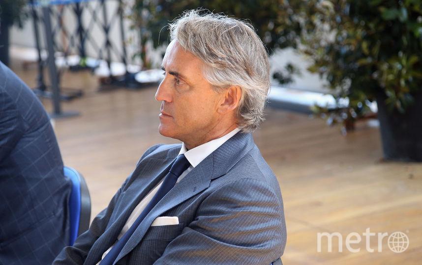 Итальянский специалист Роберто Манчини. Фото Getty