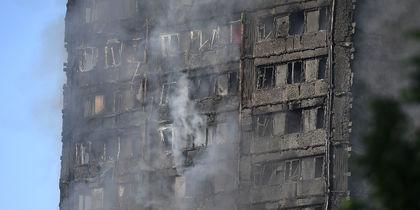 В Лондоне горела многоэтажка. Фото Getty