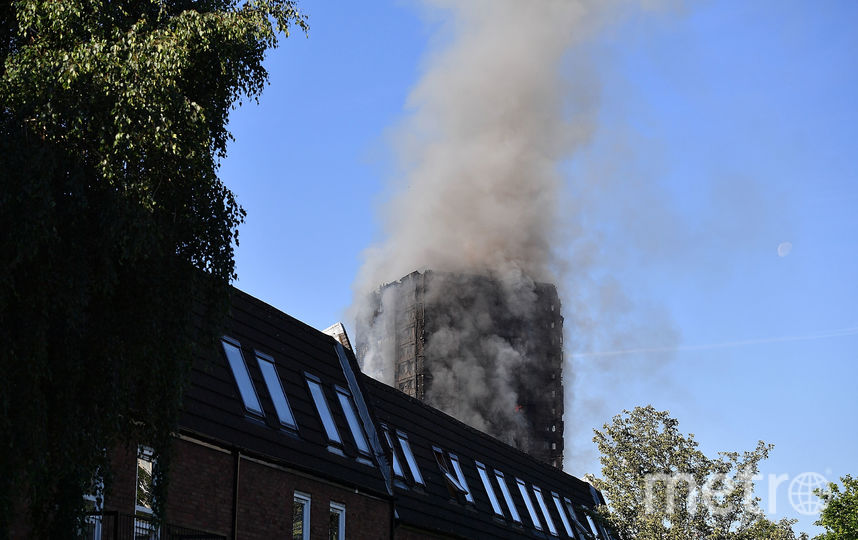 Крупный пожар в многоэтажке в Лондоне. Фото Getty