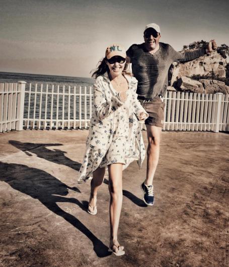 Ксения Собчак и Максим Виторган. Фото Instagram Ксении Собчак.