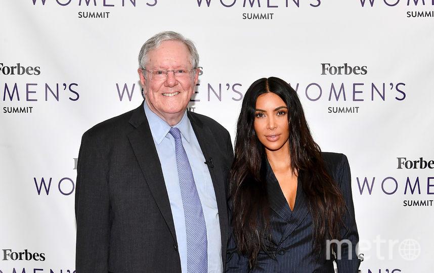 Ким Кардашьян поразила необычным нарядом в Нью-Йорке. Фото Getty