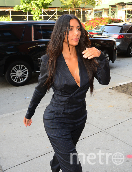 Ким Кардашьян в Нью-Йорке. Фото Getty