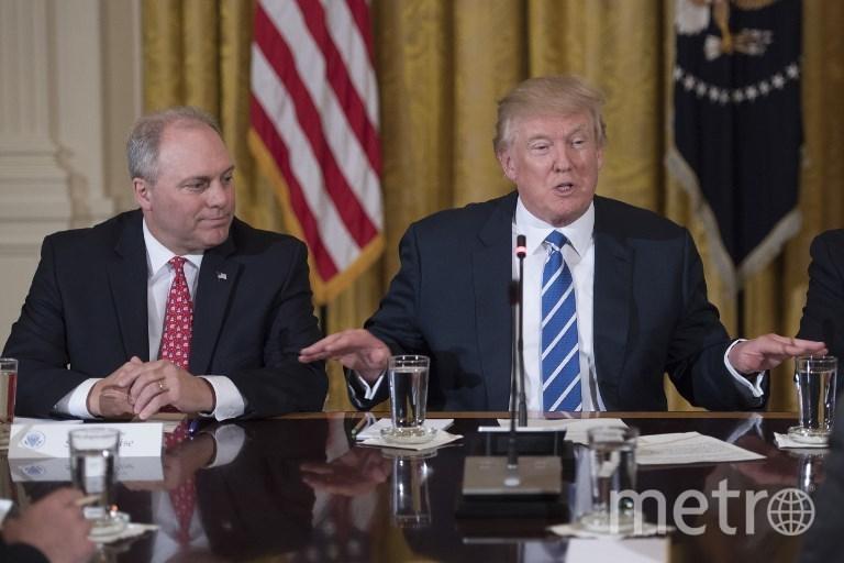 Стив Келиз и Дональд Трамп. Фото AFP