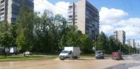 Улицу Турку в Петербурге залило водой во время испытаний теплосетей