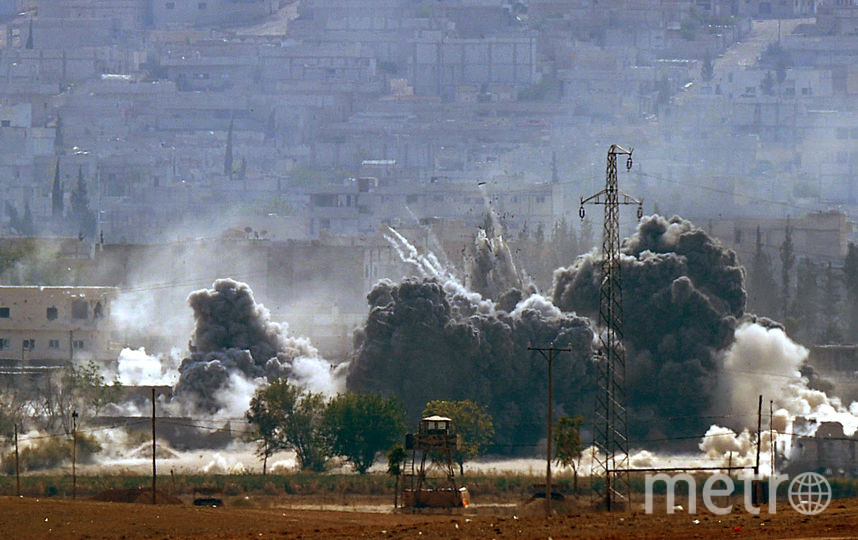 Воздушный удар. Фото Getty