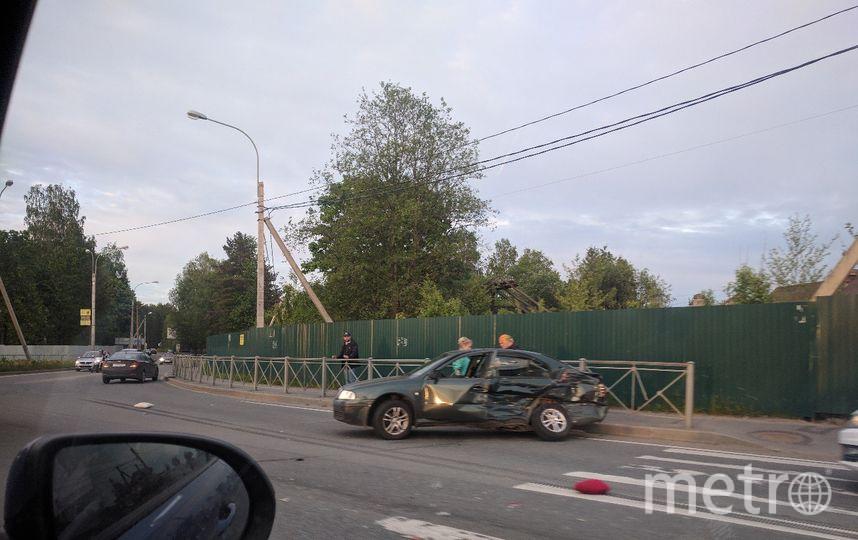 Страшная авария произошла во Всеволожске, на Дороге Жизни. Фото vk.com