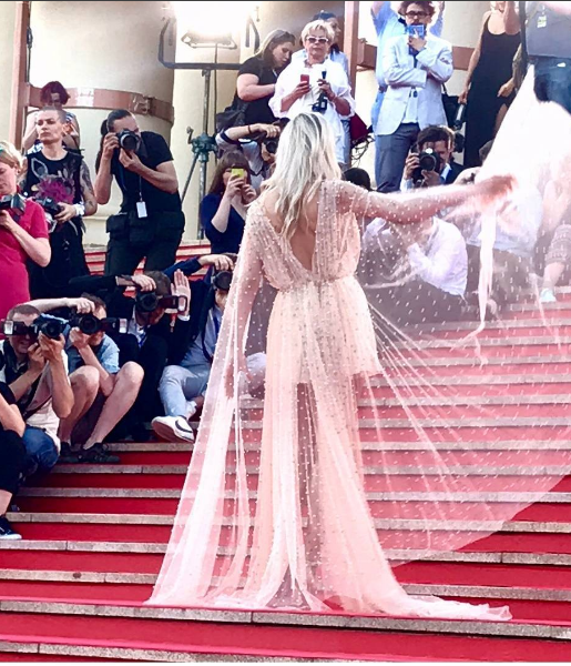 Платья звезд Кинотавра. Фото instagram