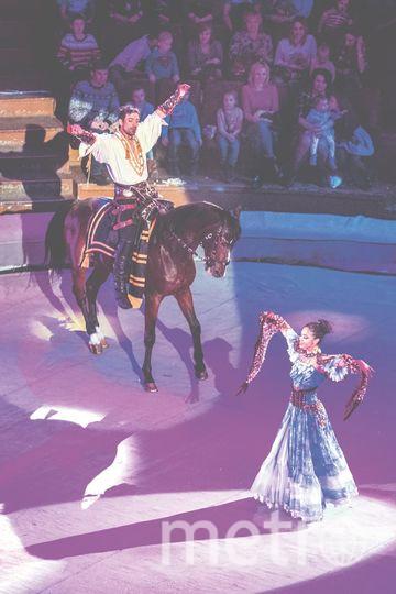"""Новая программа Гии Эрадзе – """"Баронеты"""". Фото предоставлены Цирком."""