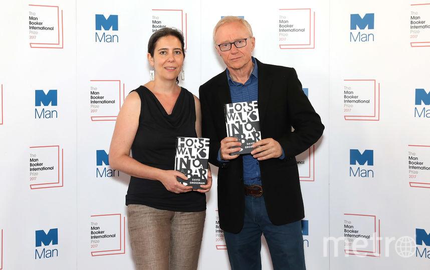 Израильский писатель Давид Гроссман стал победителем международной Букеровской премии. Фото Getty