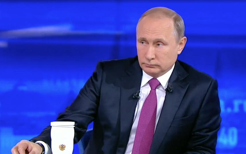 Путин поведал опереговорах сПорошенко поДонбассу— Прекращение войны