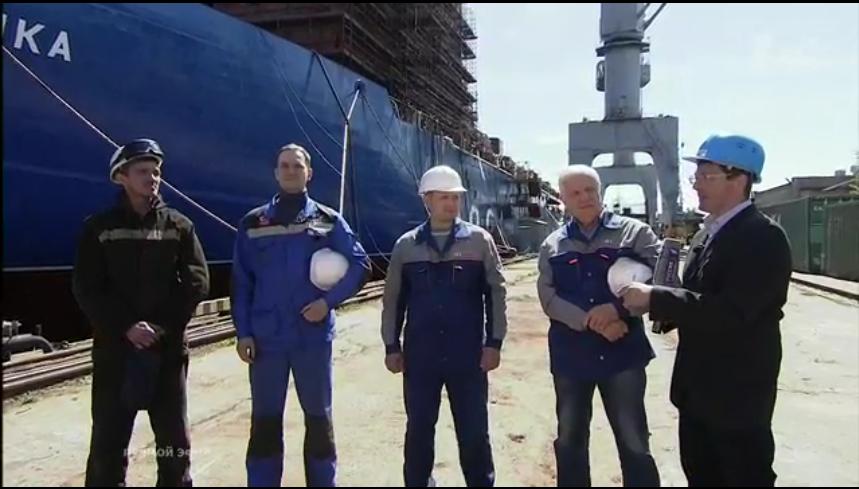 Вопрос об Исаакии задали на Балтийском заводе.