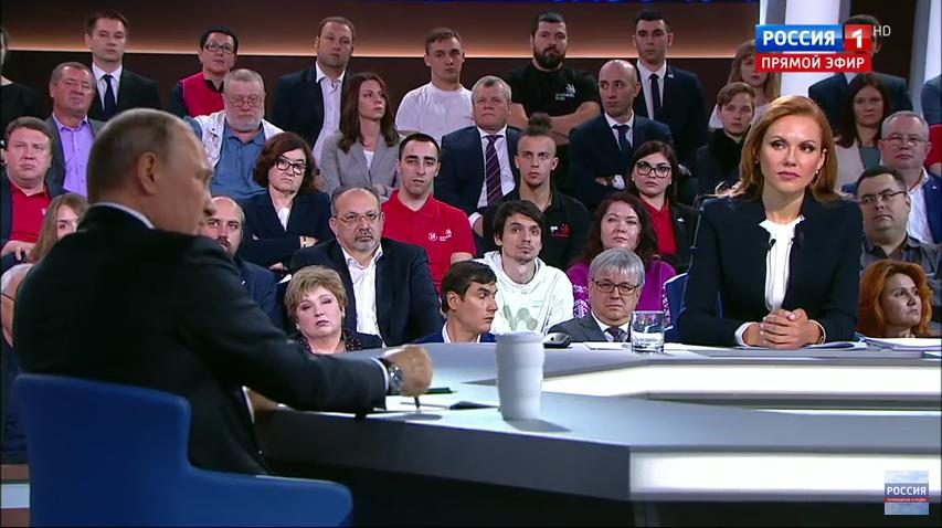 Путин на прямой линии ответил на вопрос Данилы.