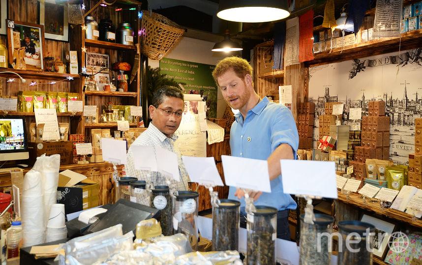 Принц Гарри удивил внезапным визитом лондонский рынок. Фото Getty