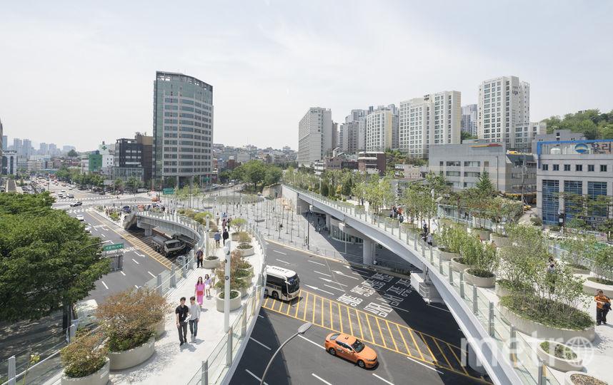 Проект нового парка, который скоро появится в Сеуле. Фото Ossip van Duivenbode