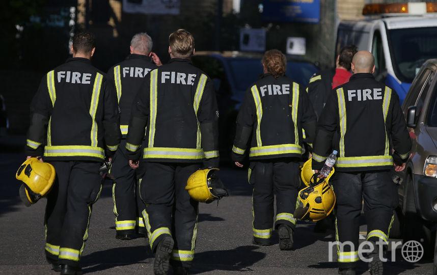 Пожарные. Фото AFP
