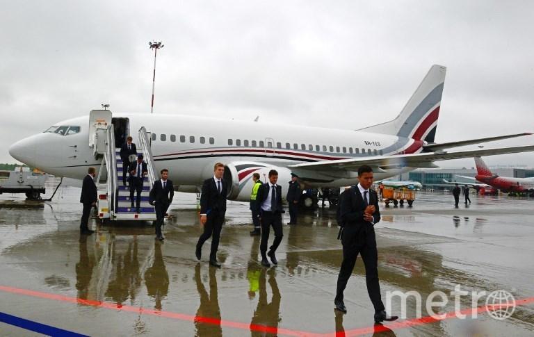 Футболисты прибывают в Россию на Кубок конфедераций-2017. Фото AFP