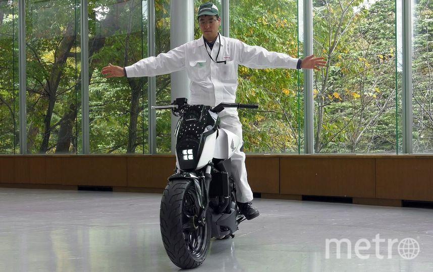 "Riding Assist. Фото ""Metro"""