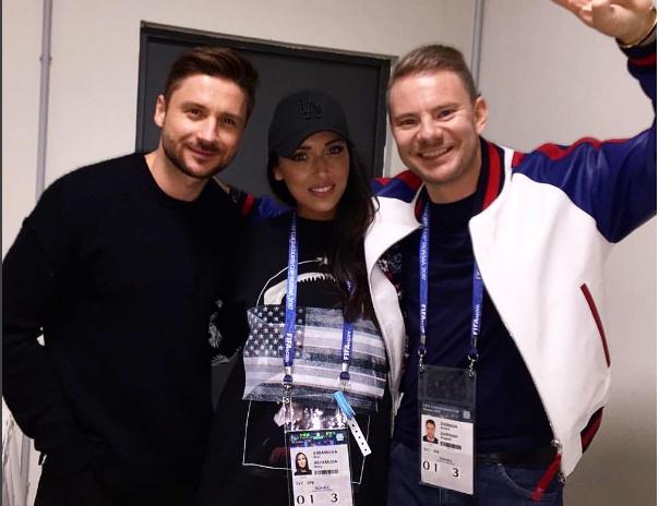 Лазарев и Алсу выступят в Петербурге.