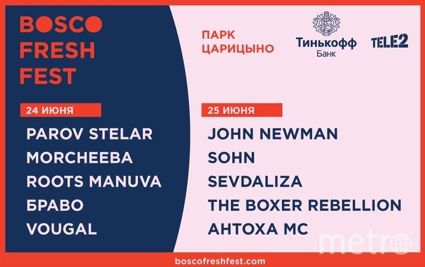 Tele2 и Тинькофф Банк объединились, чтобы поддержать таланты на Bosco Fresh Fest.