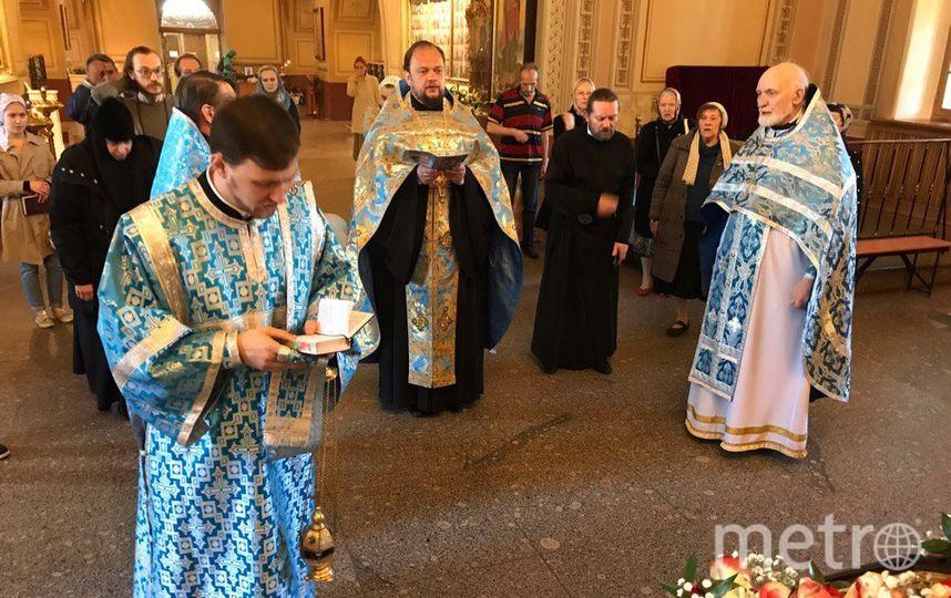 В Сампсониевский собор привезли чудотворную икону. Фото https://vk.com/sampsonysobor