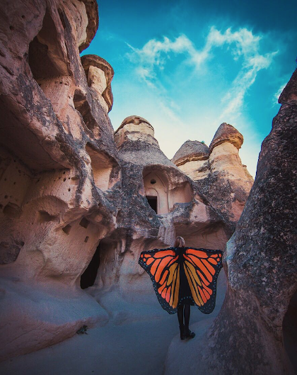 Я Каппадокская бабочка. Фото Елизавета Климанова.