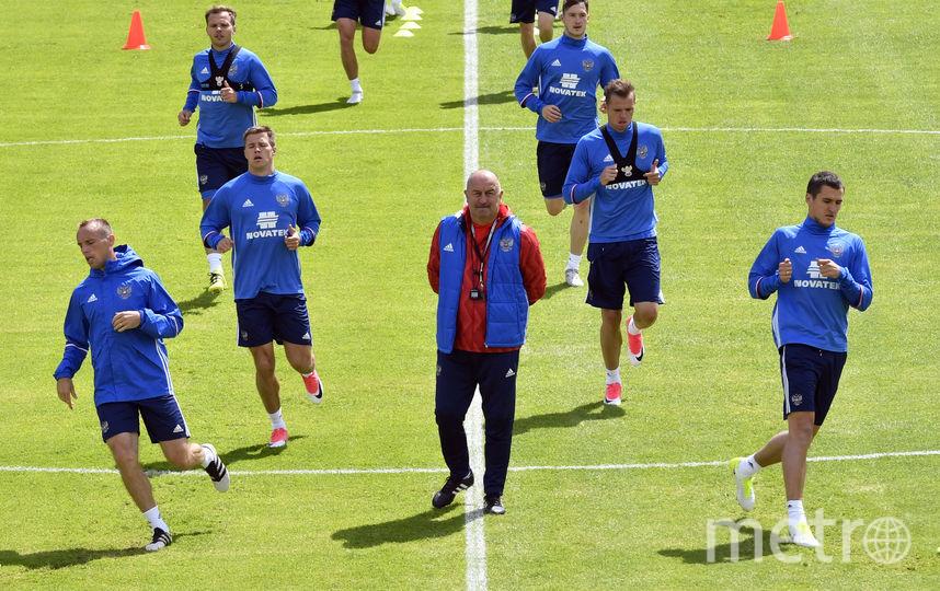Тренировка сборной России перед Кубком Конфедераций. Фото AFP