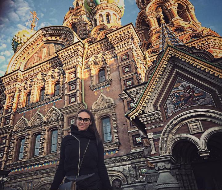 Instagram Алены Водонаевой назван самым глянцевым. Фото Скриншот Twitter/alenavodonaeva