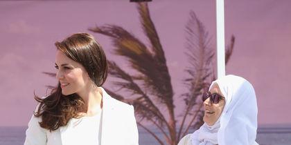 Модные критики восхитились морским образом Кейт Миддлтон. Фото Getty