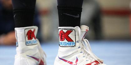 Ботинки Сергея Ковалева. Фото Getty