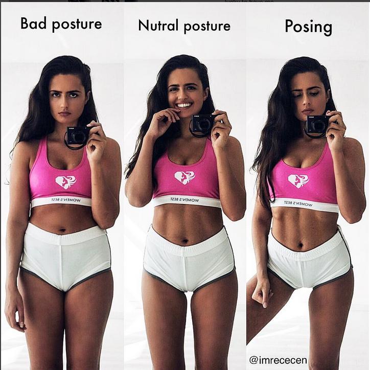 Известная модель разоблачила секреты идеальных снимков в Instagram. Фото Скриншот Instagram/imrececen
