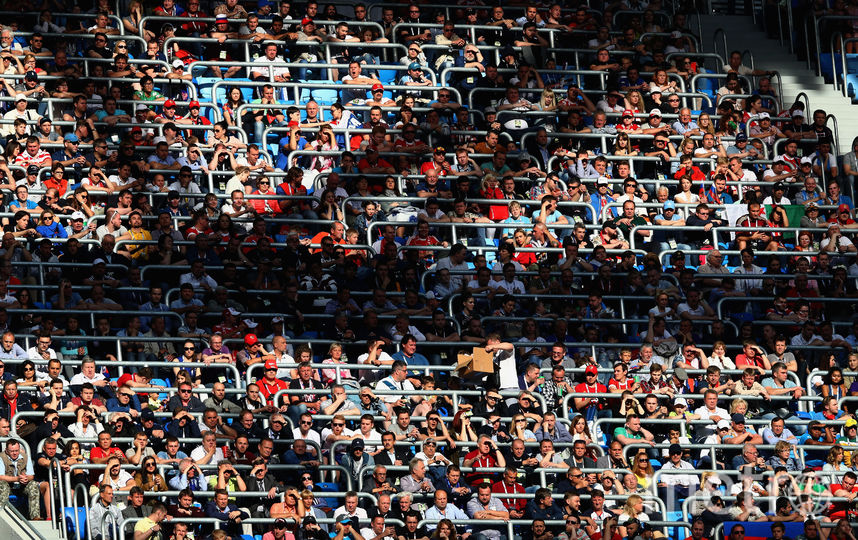 Первый день на Кубке Конфедераций. Фото Getty