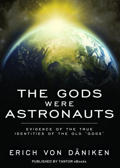"""Книга """"Боги были астронавтами"""". Фото Предоставлено Эрихом фон Дэникеном"""