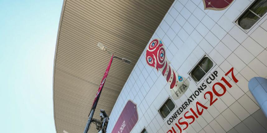 На Кубке конфедераций были усилены меря охраны. Фото Getty