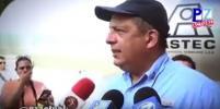 Президент Коста-Рики съел осу во время интервью